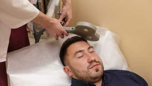 ТМС при боли в левой части головы