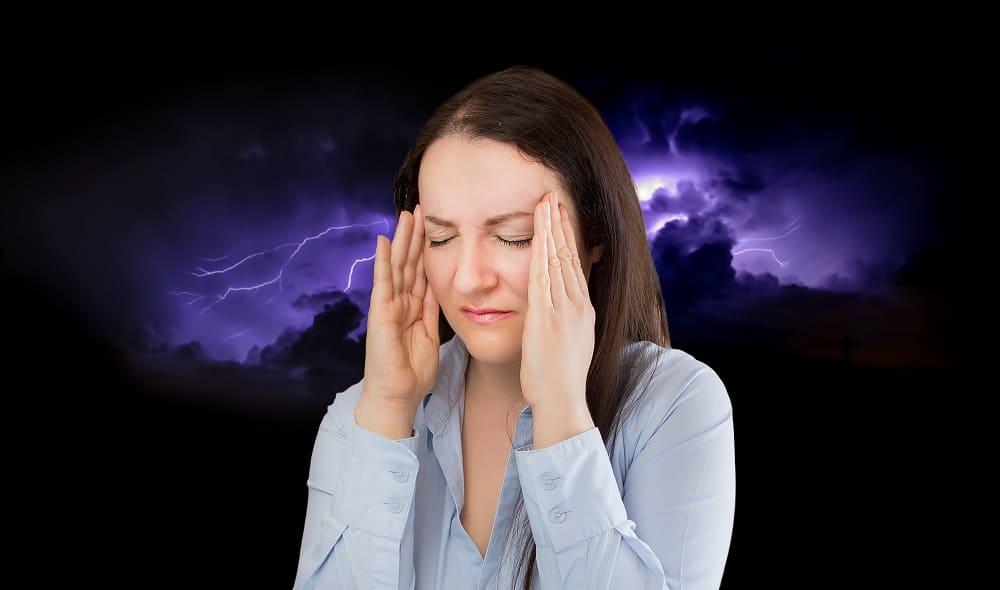 В грозу болит голова