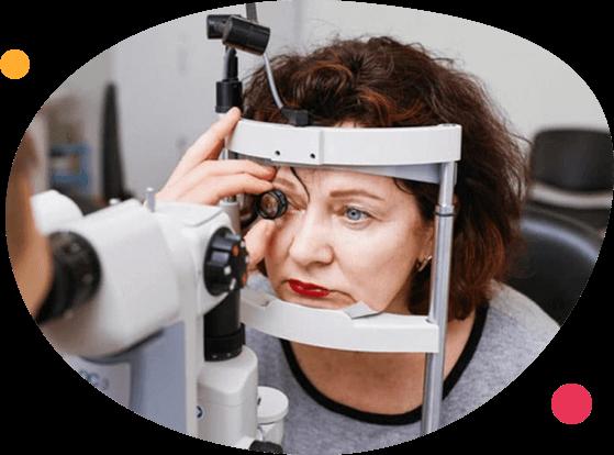 Обследование глаз на щелевой лампе – офтальмоскопия