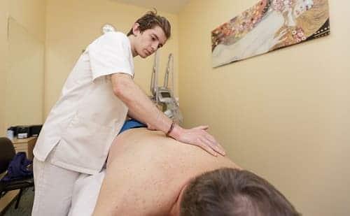 Сеанс массажа терапия ВСД