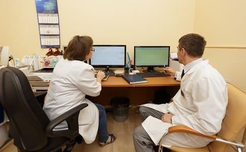 Анализ данных пациента с болью в затылке