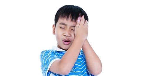 Боль в левом виске у ребенка