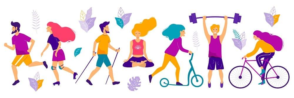 Физическая активность лечение ВСД