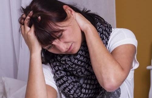 Тошнота и затылочная боль