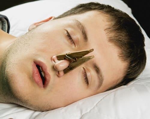 Затруднениее дыхания голова болит ночью