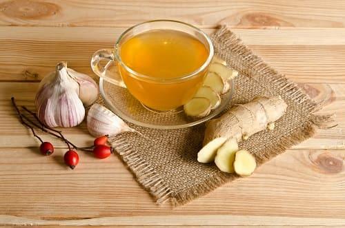 Имбирный чай от головокружения