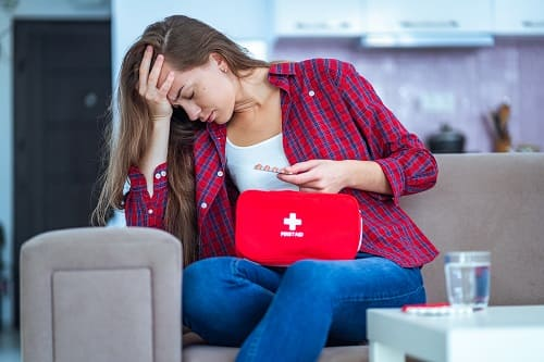 Лечение головной боли и рвоты дома