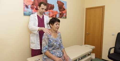 Осмотр врачом при гипотензии