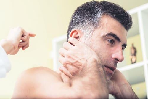 Самомассаж при головокружении