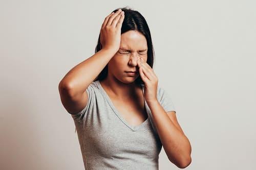 Синусит причина головной бол