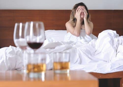 Спиртное причина головной боли утром