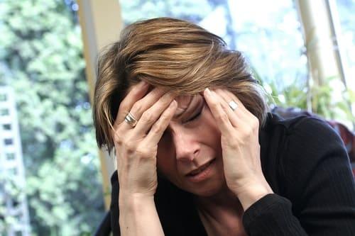 Приступ мигрени в половине головы