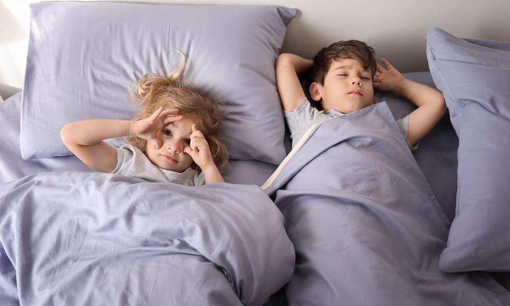 Нарушения сна часты у детей