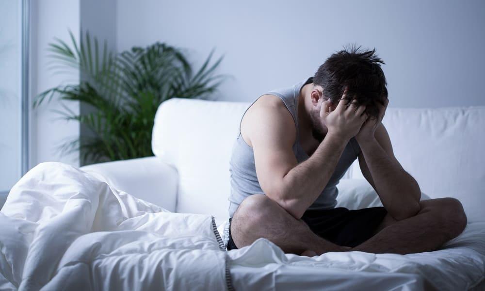 Проблемы со сном у мужчины