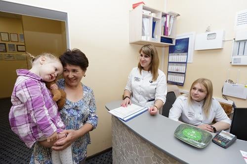 Ребенок с ММД в клинике