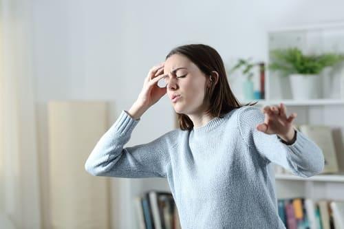 ВСД причина вертиго и головной боли