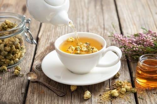 Чай с ромашкой для сна