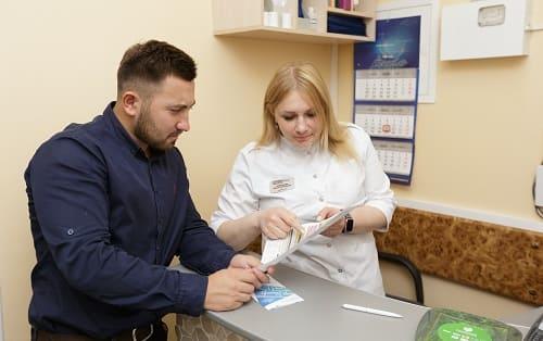 Взрослый клиент Клиники восстановительной неврологии