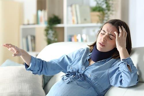 Опасность – потеря равновесия при беременности