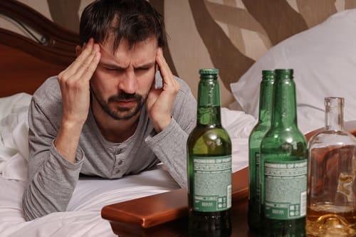 От алкоголя болит затылок и виски